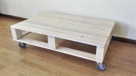single pallet coffee table wheels creator creations nelspruit