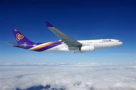 thai airways thai airways thai launches its 72nd destination bangkok