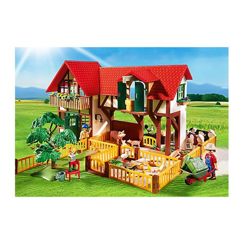 Playmobil 1 2 3 Large Farm playmobil 6120 large farm