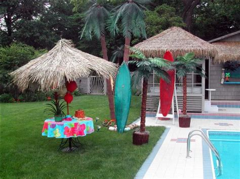 luau backyard party backyard luau vbs ideas pinterest