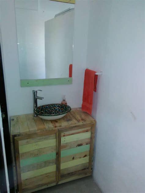pallet bathroom vanity diy pallet wood bathroom vanity 101 pallets