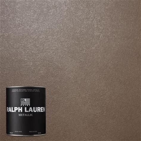 ralph 1 qt wedding silver metallic specialty finish interior paint me105 04 the home depot