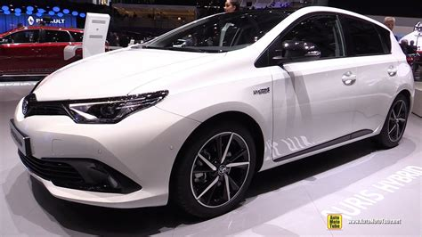 auris interior 2017 toyota auris hybrid exterior and interior