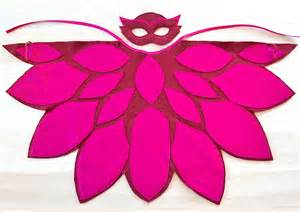 pj masks owlette costume kids wings mask bhb kidstyle