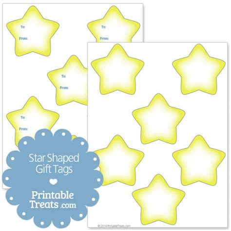 printable star tags printable star shaped gift tags printable treats com
