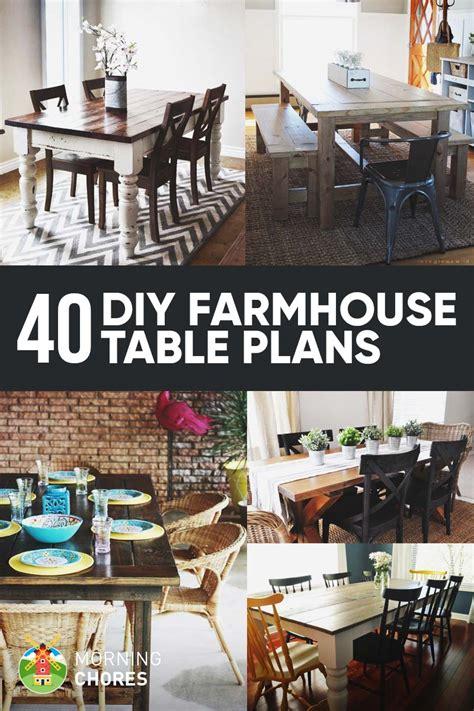 farmhouse dining table ideas 40 diy farmhouse table plans ideas for your dining room