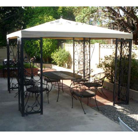 Costco Outdoor Furniture Gazebo by Costco Wholesale 10 X 10 Fleur De Lis Finial Gazebo