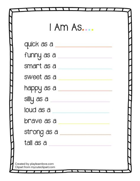 free printable lesson plan worksheets all about me i am worksheet preschool and toddler