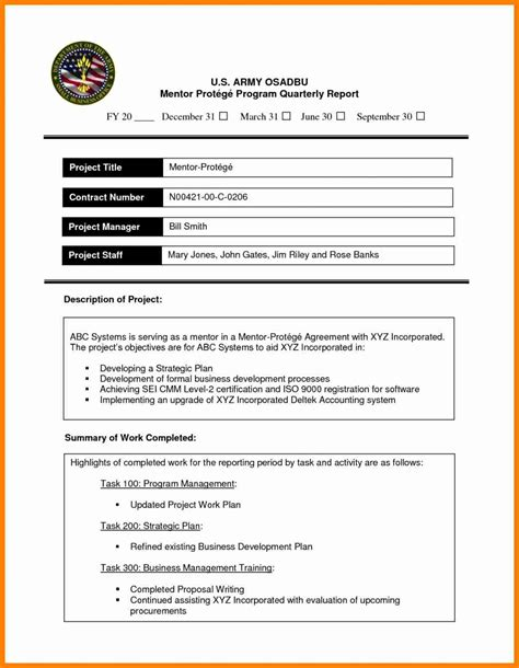 8 business report exle for students buyer resume
