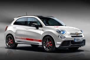 Fiat Rolls Out 2018 Abarth 500x Prototype Future Cars Models