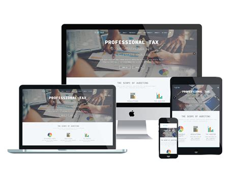 responsive form template free at tax free responsive tax website templates