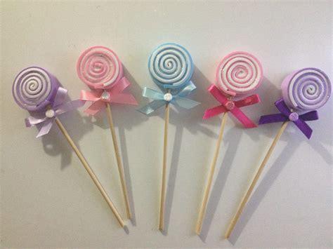 moldes para hacer paletas de caramelo paletas de caramelo foami recuerdos baby shower bautizo