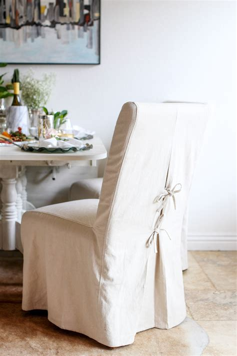 slipcovered chair slipcovered dining chairs
