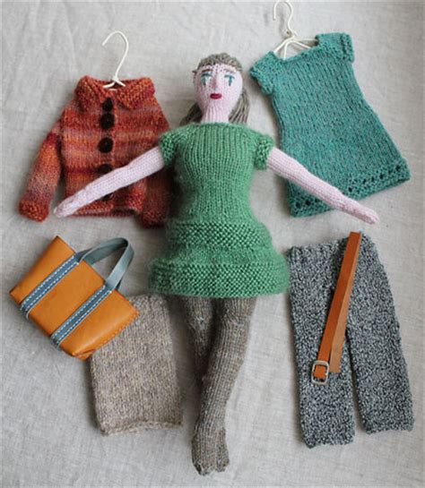 knitted doll adorable knitted dolls 10 free patterns