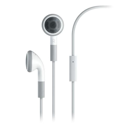 Apple Earphone apple earphones with remote and mic intact boxed clickbd