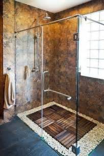 custom shower designs bringing nature into modern homes