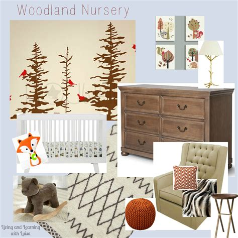 Woodland Nursery Decor by Woodland Decor Nursery Woodland Nursery Decor By