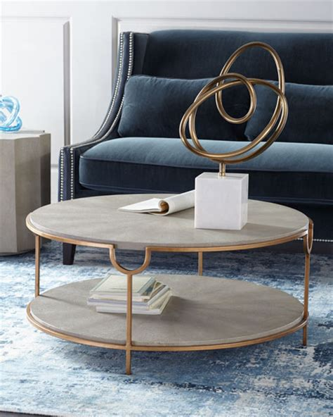tiered coffee table andrew design chaz tiered coffee table