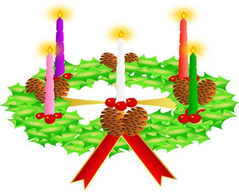 candle wreaths free vector graphic advent wreath candles wreath free