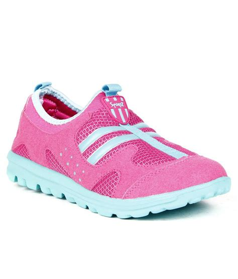 steppings appealing pink and blue casual shoes price in