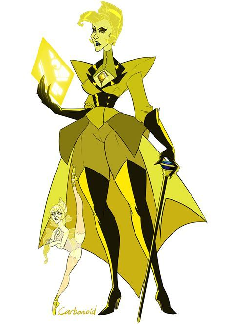 Carbonoid's Yellow Diamond and Yellow Peral   Steven