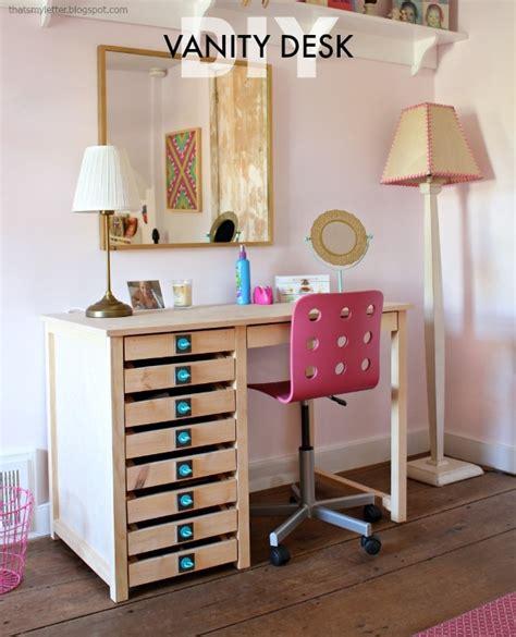 diy vanity desk diy vanity desk with modern hardware pulls jaime costiglio