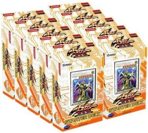 yugioh 5ds starter deck 5d s starter deck 2009 box of 10 decks 5ds2 yugioh