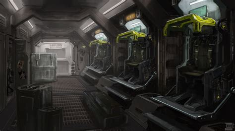 Sci Fi Interior by 1000 Images About Sci Fi Interior On