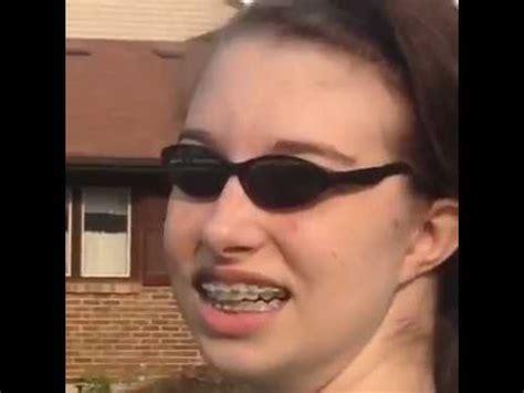 Girl With Glasses Meme - ugly girl dancing vine who is she youtube