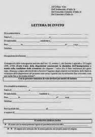 lettere di invito per turismo invitare un cittadino a thailandese in italia ecco come