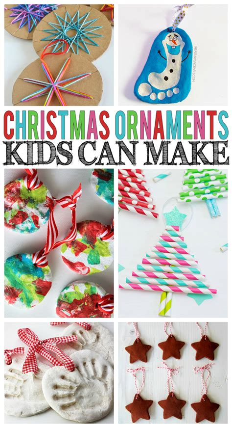 christmas ornaments kids can make eighteen25