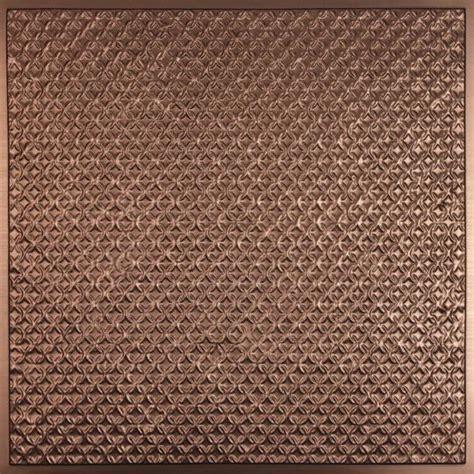 rattan bronze ceiling tiles
