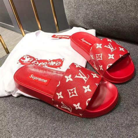 lv slippers louis vuitton lv slippers supreme slides slippers