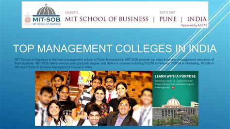Top Mba Finance Colleges In India 2016 by Best Business Schools In India By Mit School Of Business