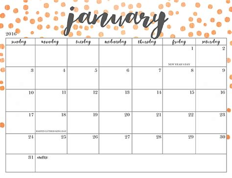 Printable Calendars Free Printable 2016 Calendars Oh So Lovely