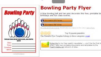 Free Printable Fundraiser Flyer Templates by 4 Bowling Fundraiser Flyer Templates Af Templates