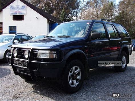 opel frontera 4x4 opel vehicles with pictures page 36