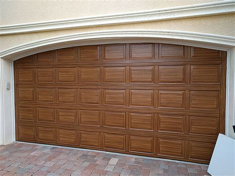 garage door five rows high everything i create paint