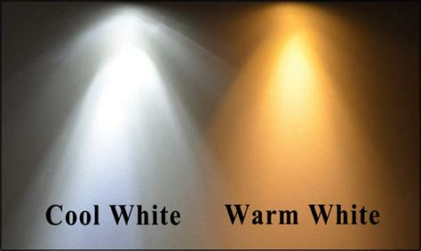 whats brighter cool white or warm whitr cool white and warm white led lighting