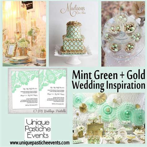Mint Wedding   Mint Green Gold {Inspiration} #2029516   Weddbook