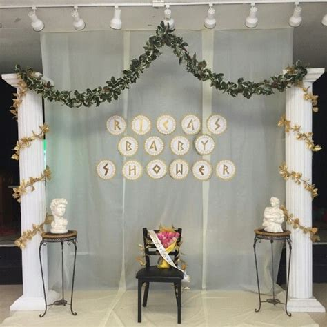 Grecian Themed Baby Shower by Best 25 Decorations Ideas On