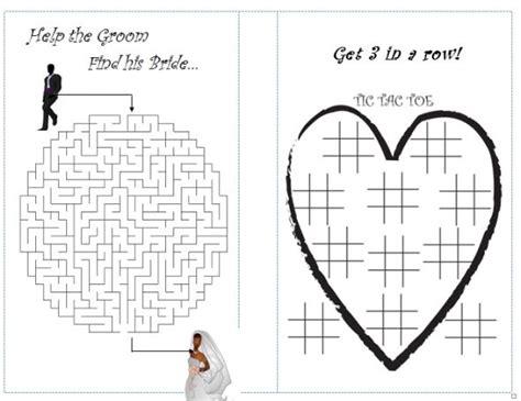 diy kid s activity booklet weddingbee photo gallery