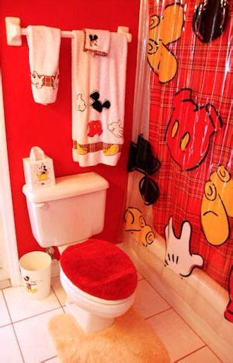 Mickey And Minnie Bathroom Decor - 17 best images about everything mickey minnie mouse