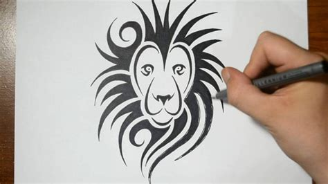 how to create a tattoo design how to draw a tribal design style