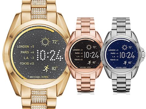 Smartwatch Mk michael kors now has a smartwatch and it s a buro 24 7