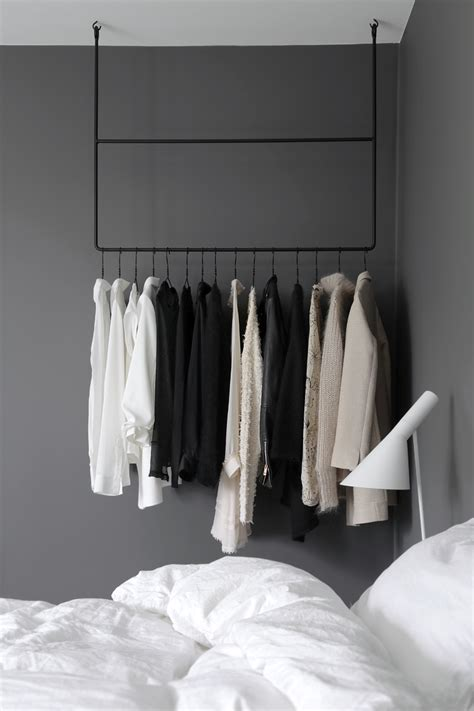 bedroom wear clothing rail in the bedroom stylizimo