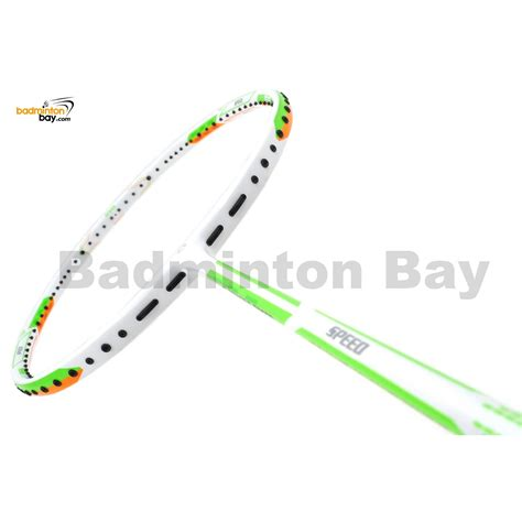 Raket Bulutangkis Badminton Apacs Dual Power Speed apacs dual power speed version 2 white badminton racket 4u