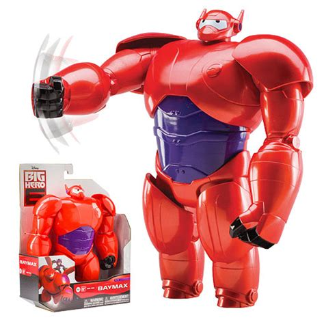 big 6 figure big 6 marvel armored baymax 10 inch