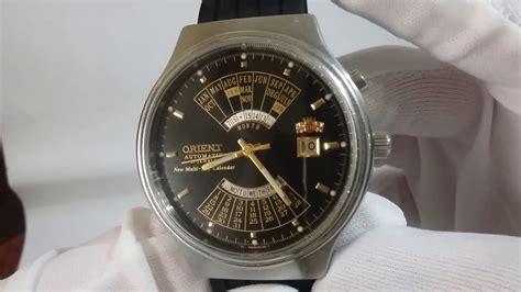 orient multi year calendar s wrist automatic