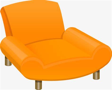 sillon png sillon de naranja sofa muebles orange png y vector para